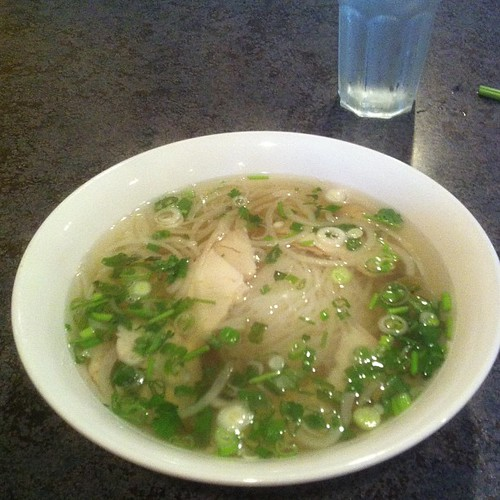 Post-rally chicken pho #yegfood #yegpho by raise my voice
