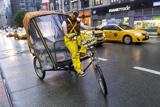 Pedicab, nyc
