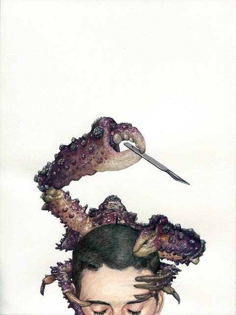 Fabien Merelle, Le crabe, 2011