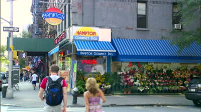 stock-footage-new-york-ny-circa-hampton-deli-displays-flowers-on-th-avenue-during-the-summer-in