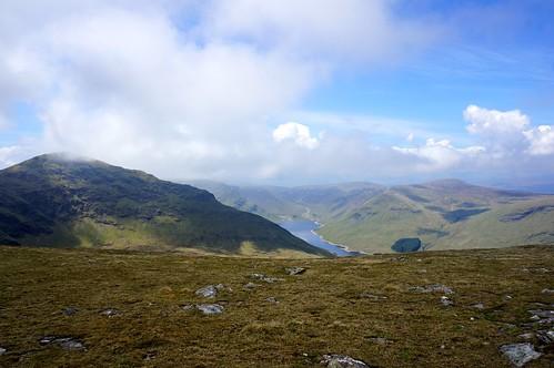 Stuchd an Lochain summit above Loch an Daimh