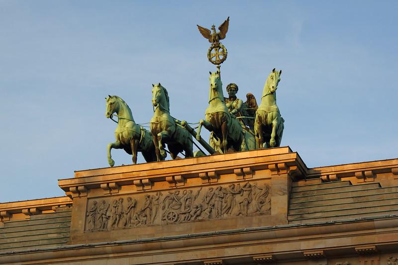 Berlin - Sonnenaufgang