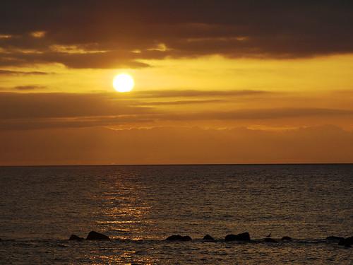 Noche de San Juan, Sunset, Puerto de la Cruz, Tenerife