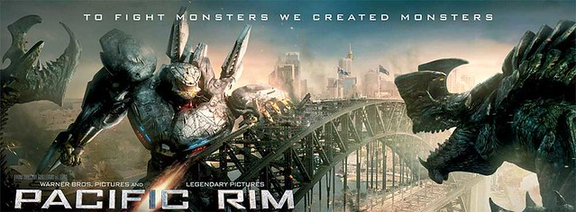 Pacific Rim robots vs monstruos
