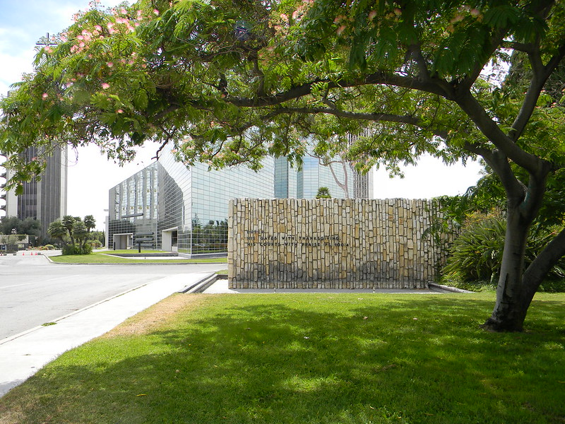 Crystal Cathedral entrance 1