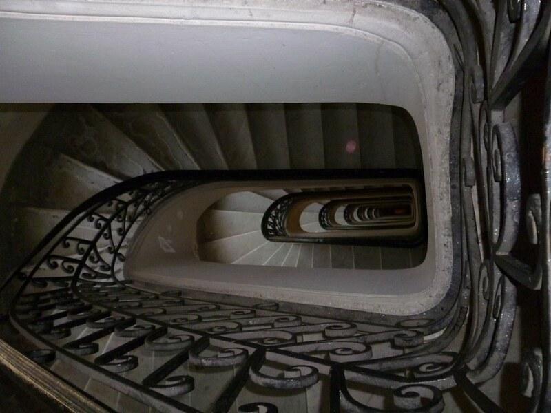 Stairs in Palacio Barolo