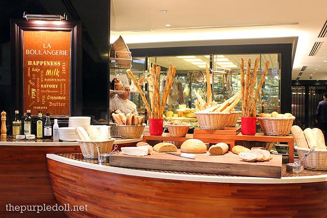 La Boulangerie Breads at Spiral Sofitel