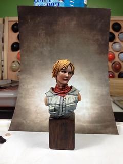 Buste Heather - 1er pas à l'huile 9195739208_142eae5a94_n
