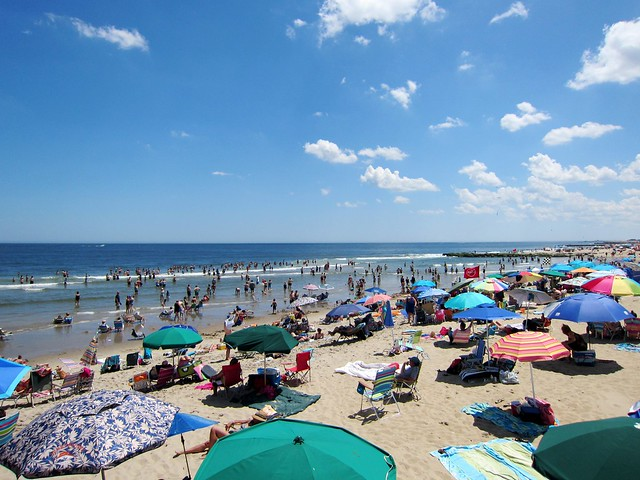 New Jersey Beach Umbrellas