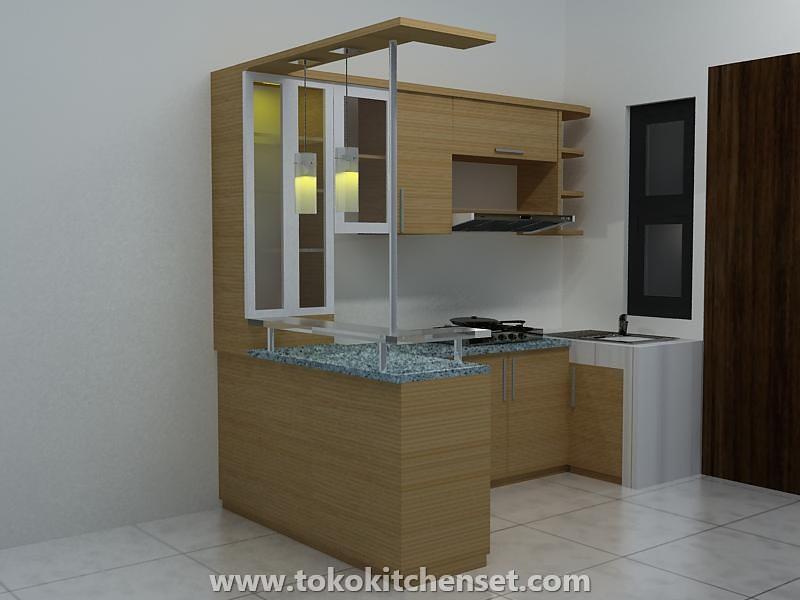 Contoh desain toko kitchen settoko kitchen set for Beli kitchen set jadi