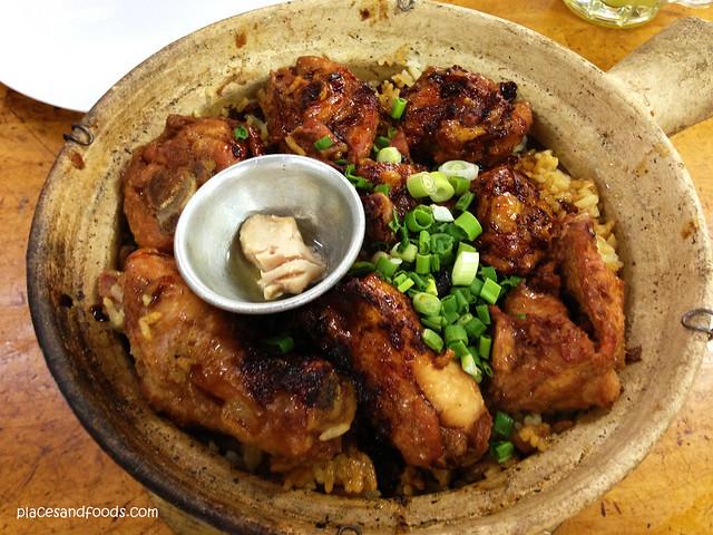 huen kee claypot chicken rice