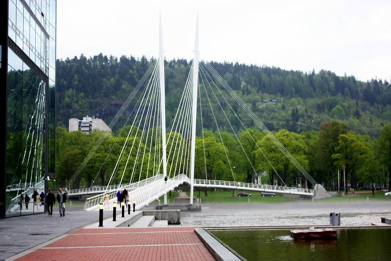 Y-brúin í Drammen