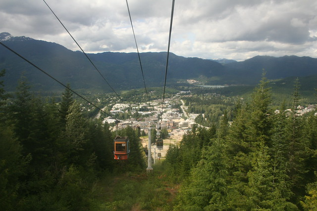 Gondola to Whistler Mountain