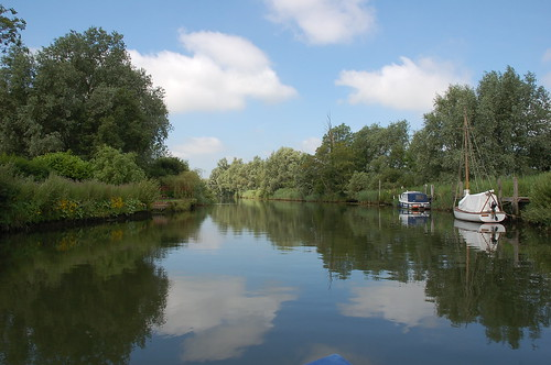 On the River Waveney near Beccles