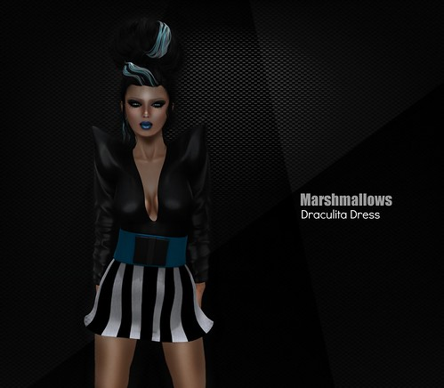 NEW @Marshmallows ~Draculita Dress by Romy Dash :: Marshmallows ::