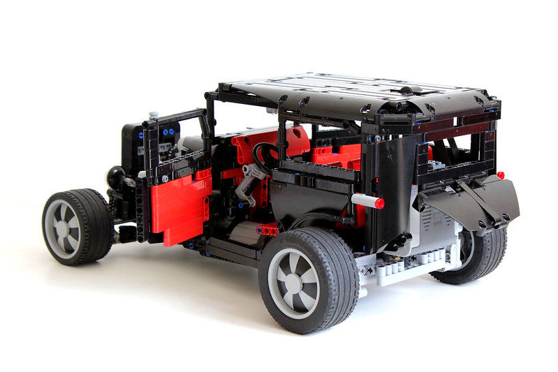 1932 ford hot rod lego technic and model team. Black Bedroom Furniture Sets. Home Design Ideas