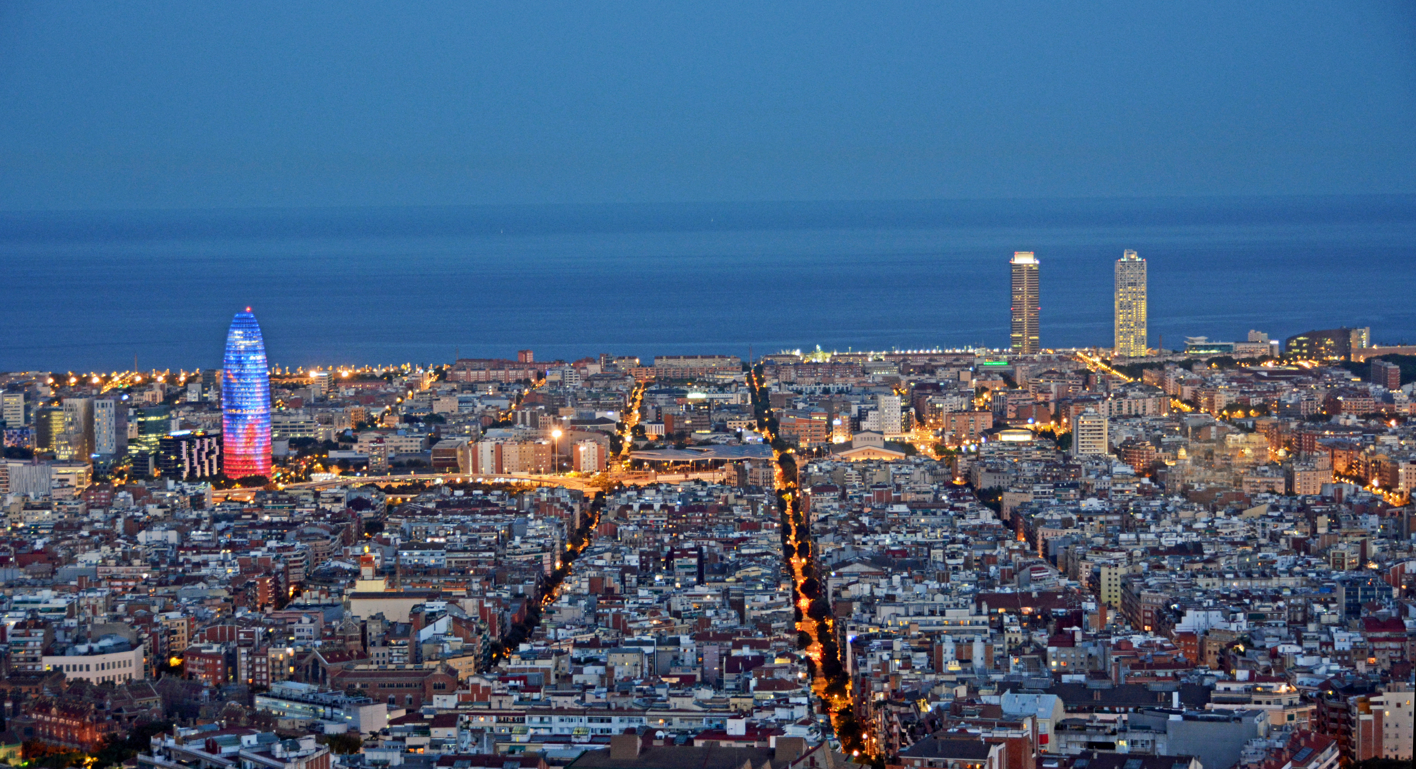 Ikea Garden Barcelona Skyline Flickr Photo Sharing
