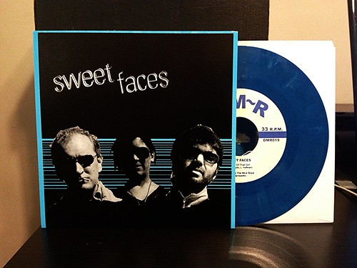 "Sweet Faces - S/T 7"" - Blue Vinyl (/100) by Tim PopKid"