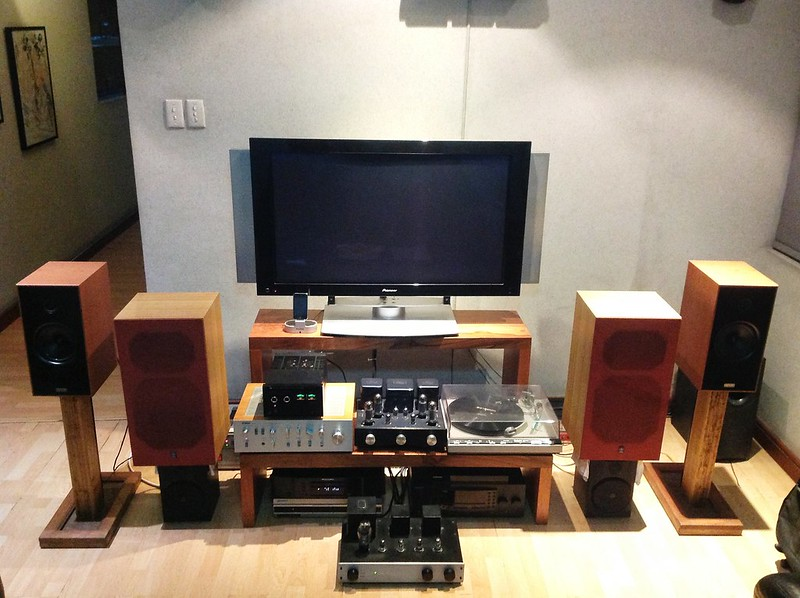My Living Room Audio Set Up