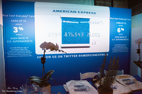 American Express Blue Cash Card booth
