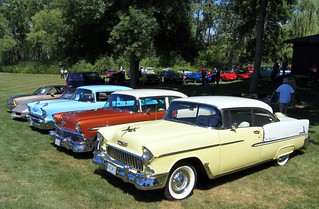 Chevrolet Central:  55 & 56 Bel Air & 57 150 & 82 Corvette & 80 El Camino