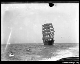 Three-masted barque WINTERHUDE
