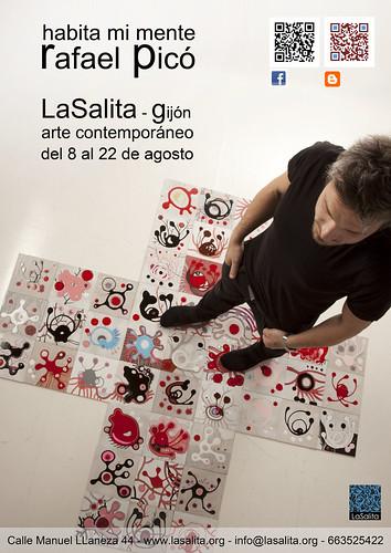 cartel gijon by GALERÍA RAFAEL PICÓ