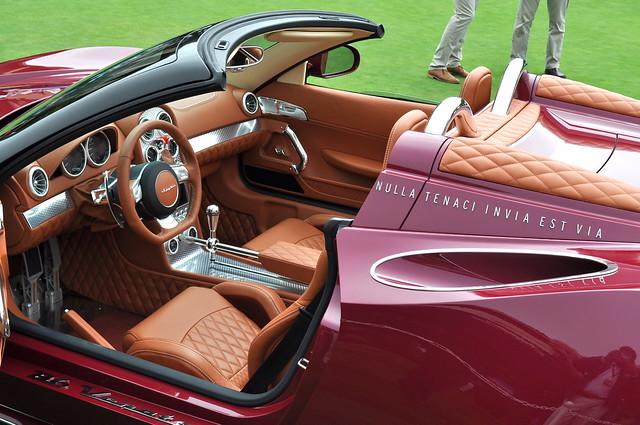 Spyker B6 Ventator Spyder Concept, Pebble Beach Concours d'Elegance 2013, The Lodge at Pebble Beach Golf Links