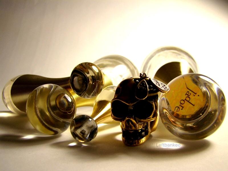 J'Adore Dior Alexander McQueen Skull ring