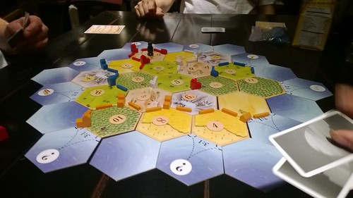 I won Catan tonight! #gamenight