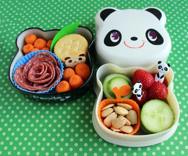 Preschool Super Panda Bento #494