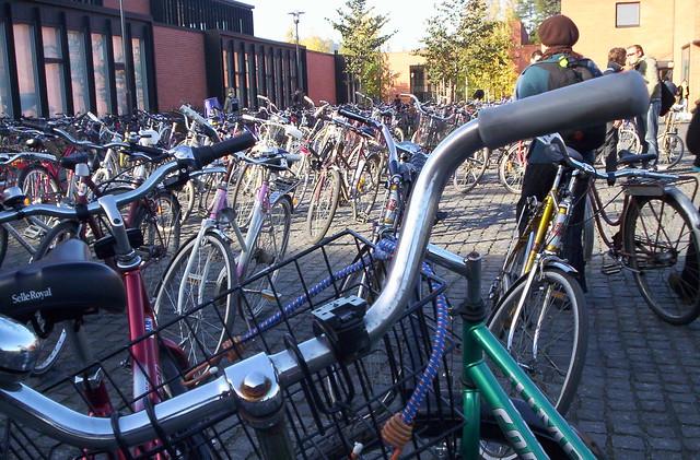 Bicicletas en Joensuu