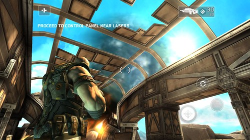 ลองเล่นเกม Shadowgun บน mondo 5001Q ไม่มีปัญหาแต่อย่างใด ลื่นไหลดี ไม่มีกระตุก