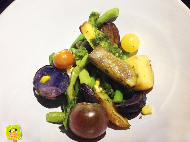 north brooklyn farm supper club - grilled vegetables