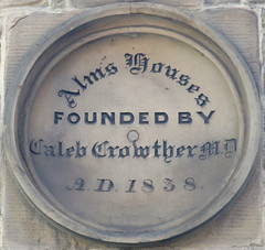 Photo of Caleb Crowther blue plaque