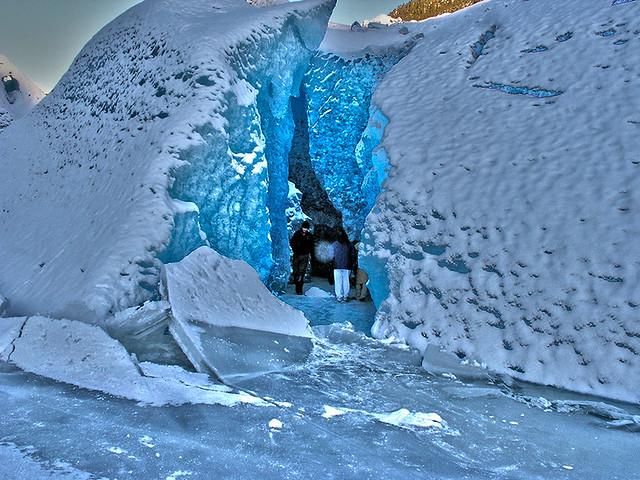 メンデンホールの氷の洞窟