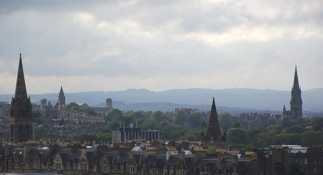 Edinburgh, city of hills and spires