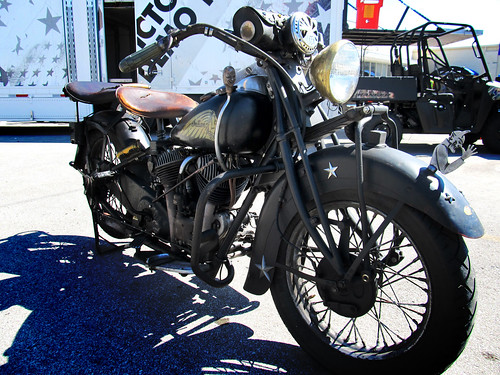 old Indian motorcycle