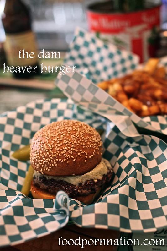 dam beaver burger