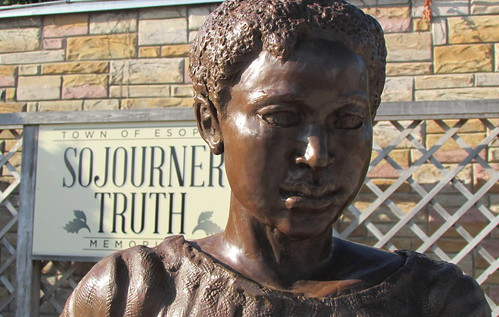 Sojourner Truth Statue - Close-up - Port Ewen, N.Y.