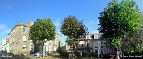 The Square, Penryn, Cornwall by Stocker Images