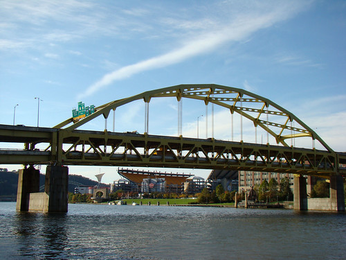 Fort Duquesne Bridge - Oct. 21st 2013