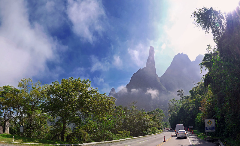 O Dedo de Deus! Teresópolis - Rio de Janeiro - Brasil / The God's Finger!