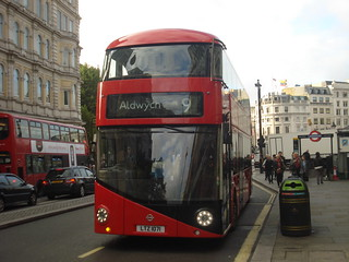 London United LT71, Route 9, Charing Cross