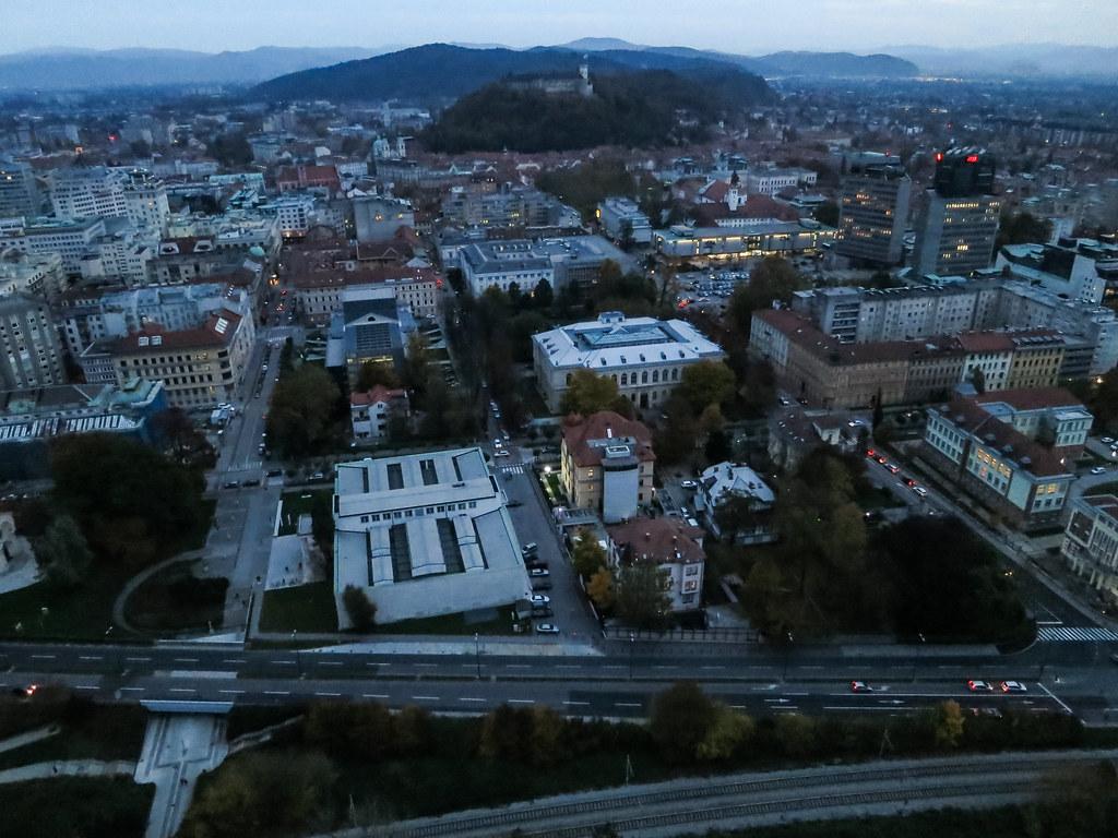 Day to Night - KAP Above Ljubljana