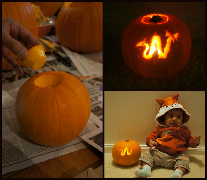 Nail a Day: On a personal note....pumpkin carving!