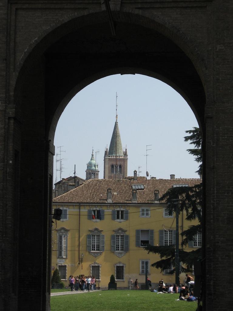 12. Detalle de Parma. Autor, Ho visto nina volare
