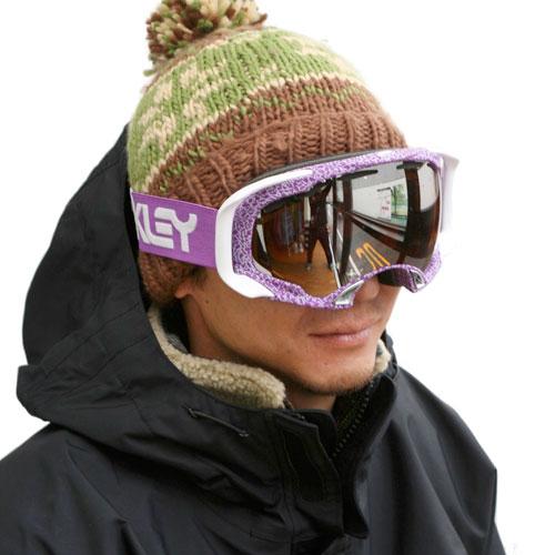 oakley splice  NEW!! OAKLEY SPLICE purple haze ski snowboard goggles rrp 拢140 ...