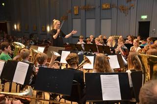 Lilla Brassbandfestivalen 2013 - Matilda Forsberg leder Framåt Brass-bandet