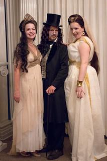 Dracula & Brides (Tara, Paul, & Kendra)